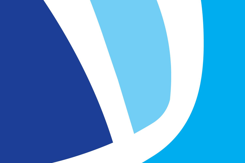 akiva school logo design, flat, branding, blue, hebrew